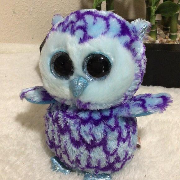 3/$10 Ty Beanie Boo's Oscar the Owl